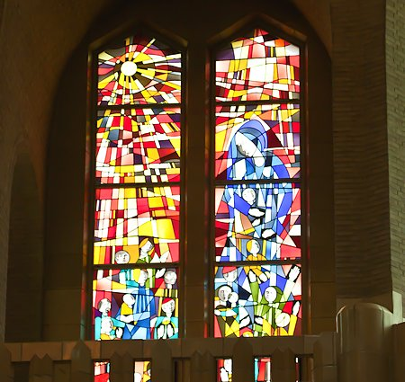 stained glass window - Pierre Majerus