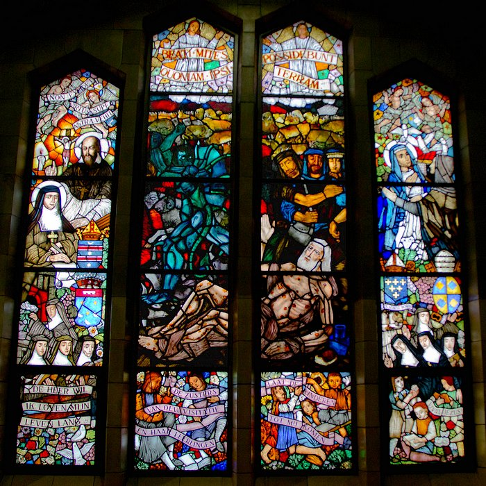 Stained glass window - Jan Huet