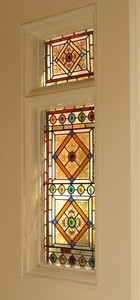 stained glass divider